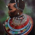The Maasai girl