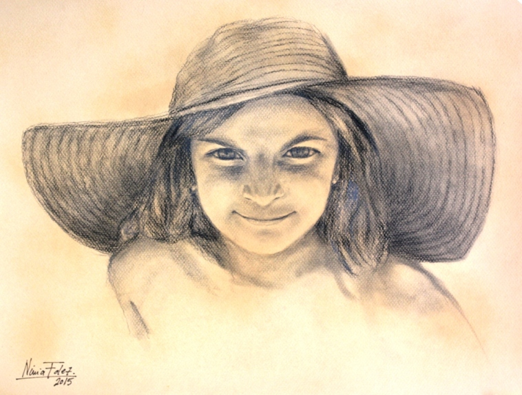 retrato a lapiz